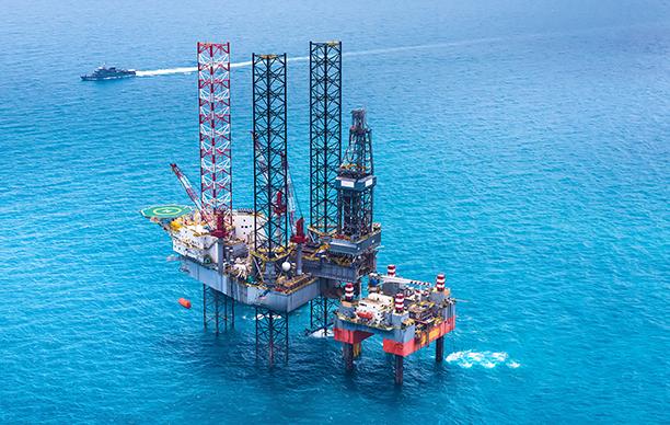 Valiant Offshore oil rig