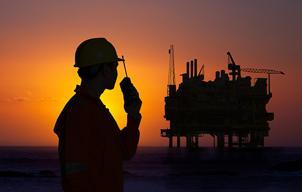 Valiant Offshore oil platform worker